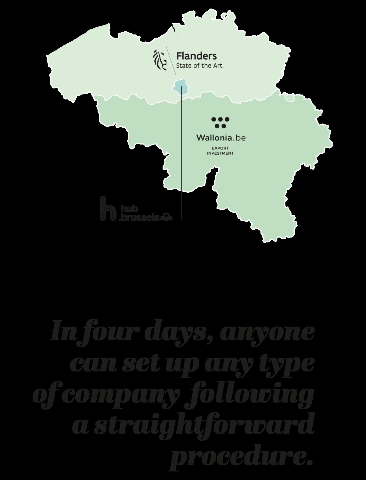 Fod Investin Belgium Map Infographic Belgium