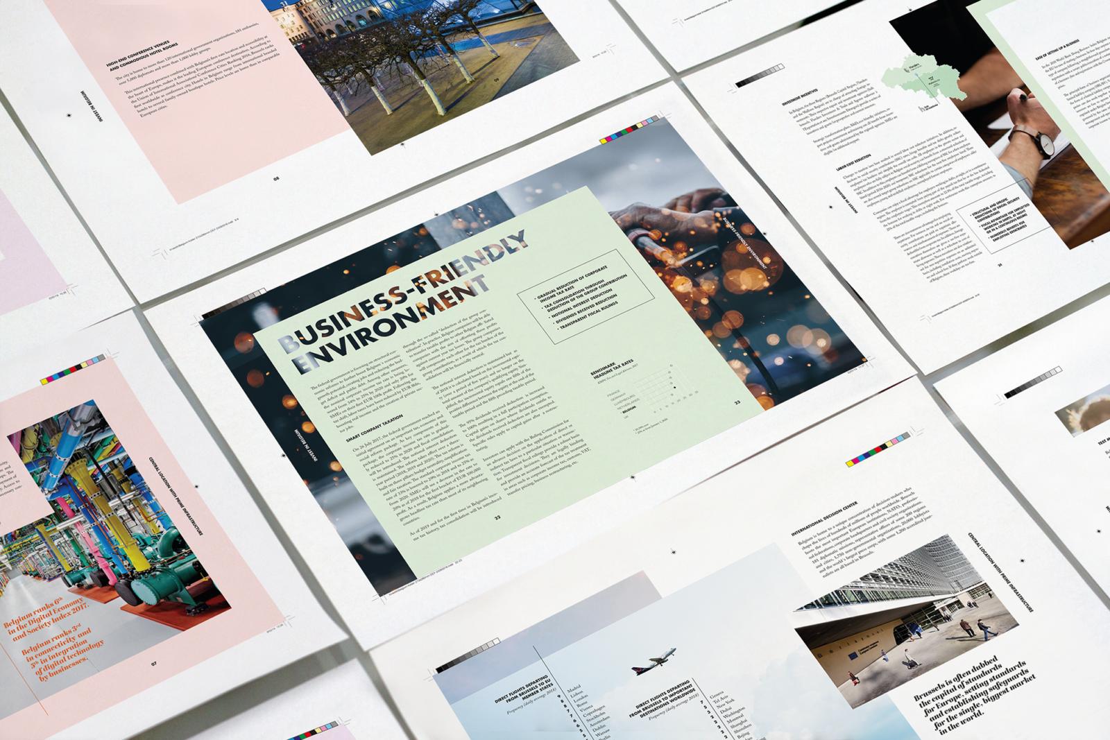 Fod Investin Belgium Layout Print